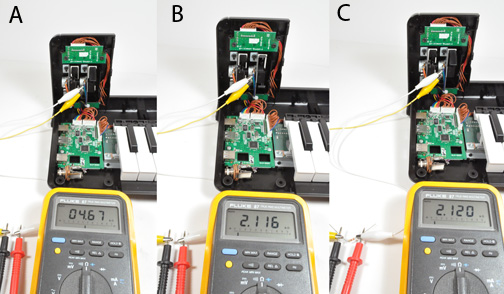 How To Add A Sustain Pedal The Korg Microkey Keyboard Kwartzlab. To Add The Sustain Pedal All That Is Needed A 14inch Mono Jack 39k Ohm Resistor Color Code Orangewhite Red Gold Two Pieces Of Wire And Some. Wiring. Keyboard Sustain Pedal Wiring Diagram At Eloancard.info