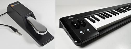 how to add a sustain pedal to the korg microkey keyboard kwartzlab sam ash keyboard sustain pedal how to add a sustain pedal to the korg microkey keyboard